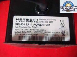 Formax FD-680 Maxi-Burster High Voltage Power Supply 4003914 SE1508