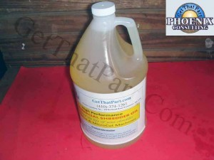 GetThatPart Commercial Shredder Oil Lubricant - Case 4 Gallons