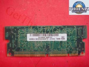 HP Laserjet 4100 C4168 C4168AF Roc 16M Rom Firmware Dimm