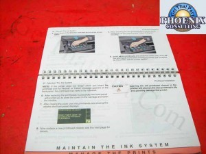 HP DJ 5000 Plotter Pocket Guide User Reference Guide C6090-90011