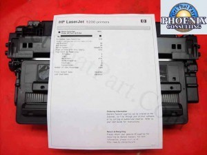 HP 16A Black Genuine OEM LaserJet 5200 Toner Cartridge 84% Q7516A