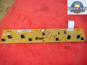 HP 5500 5550 E Label Memory Controller Board RG5-7990