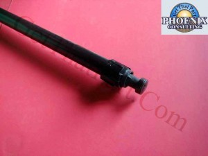 "HP C2847-60093 750C Plotter 24"" D Size Rollfeed Spindle Rod Assy"