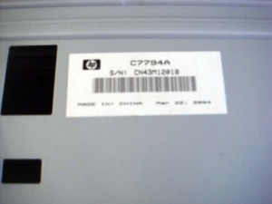 HP C7794A 10ps 20ps 50ps MultiPaper 250 Sht Tray Feeder