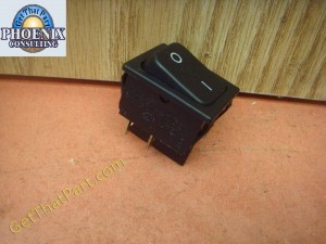 HSM 411.2 412.2 Shredders Single Pole Rocker Switch New 1400520010