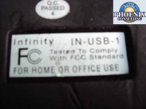 Infinity USB Transcription Pedal IN-USB-1