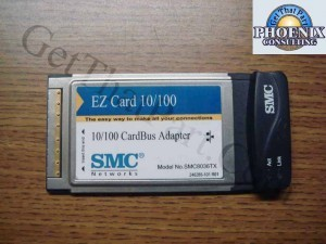 SMC 10/100 Card Bus Adapter SMC8036TX 246285-101