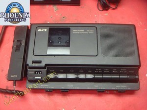 Sanyo TRC-8800 Cassette Transcriber Dictation System