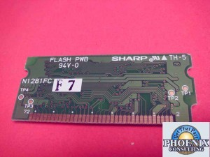 Sharp AR-507 AR507 VHI28F161A40F PCU Flash Rom Module