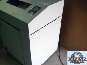 Tally Genicom T6180 Matrix Line Cabinet Network Printer