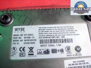 WYSE WT1200LE 901998-01 Winterm Network Terminal NEW