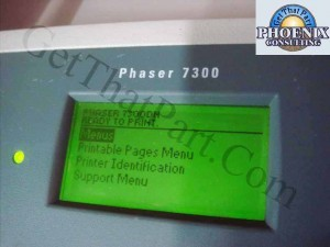 Xerox Phaser Tektronix 7300 7300DN Duplex Tabloid Ntwk Color Printer