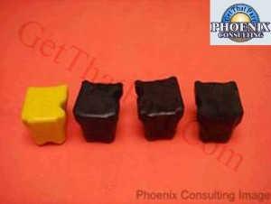 Genuine Xerox Phaser 8400 OEM Solid Ink - Set of 4 Stix