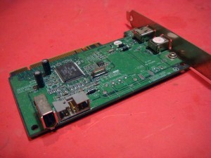 Xerox DC545 545 160K96540 Firewire Interface PWB Assy