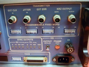 Tau-Tron GS S5104 Digital Transmission Test Set