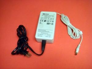 Lot of 2 Genuine HP 18V AC Power Adapter C6409-60014 for DeskJet Printer Scanner
