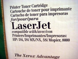 XEROX C3909A BLACK TONER for HP 5si 8000 Printers - NEW