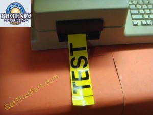 Varitronics EasyStep 4000 USA Label & Sign Maker M with Label Stock