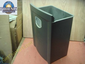 fellowes ps80c 2 36180 oem waste collection bin 36180 pb
