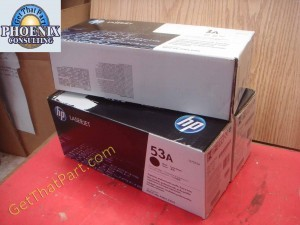 HP Q7553A 53A M2727 P2015 Genuine New OEM Toner Cartridge