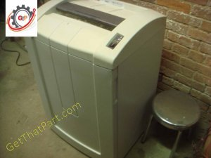 HSM 390.3S 1366 2HP StripCut Commercial German Paper Shredder As New