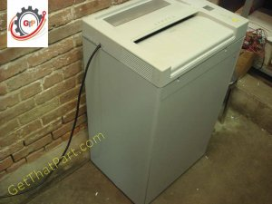 Ideal Destroyit 3802 German CrossCut Industrial Office Paper Shredder
