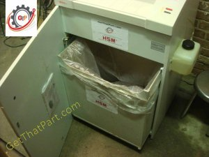 Intimus 702 Audit MicroCut German Auto Oil Industrial Paper Shredder