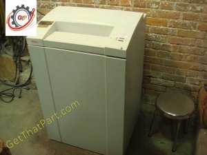 Intimus 702 702SF Audit MicroCut Steel German Business Paper Shredder