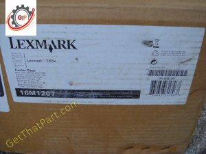 Lexmark 16M1207 T650 T652 T654 T656 Weighted Caster Cart Base New Box