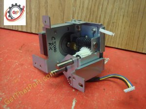 Ricoh C5000 C4000 Complete Stepper Motor Worm Gear Drive Assembly
