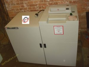 SEM DS-200 USA Industrial Disintegrator DualStage Paper Media Shredder