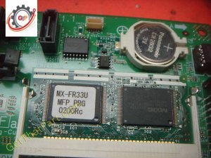 Sharp MX-4111N 4110N MFPC Control Board Assembly with FW and SD Module