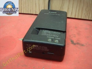 Canon BA-24P Oem Genuine Battery Charger with BP-4P Power Supply
