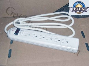 Fellowes BB-05R-3B Power Distribution Strip