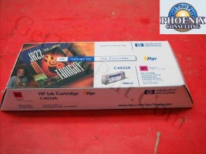HP 5000 81 Magenta OEM Genuine Dye Ink Cartridge C4932A New