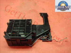 HP 5200 OEM Power Supply Fan Assembly/Holder RK2-1089