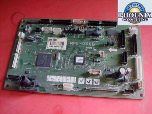 HP Color LaserJet 3700 DC Control Board RM1-0506