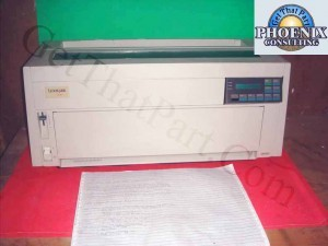 IBM Lexmark 4226-302 Workgroup Line Forms Dot Matric Impact Printer