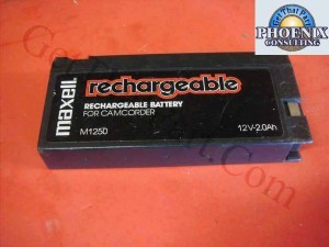 Maxell Rechargeable Camcorder Battery 12V 2Ah M1250