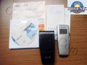 Philips 9360 Digital Pocket Memo LFH9360  with 64MB SD Card