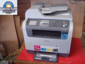 Samsung CLX-3160FN Color Multi-Function Printer 13,573 Page Count