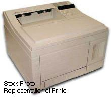 HP LaserJet 4 B/W Laser printer - 8 ppm - 350 sheets