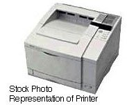 HP LaserJet 5 B/W Laser printer - 12 ppm - 350 sheets