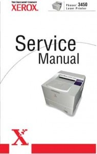 Xerox Phaser 3450 Laser Printer Service Manual