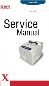 Xerox Phaser 4500 Laser Printer Service Manual