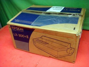 Epson LX-300+ LX300 II USB Forms Dot Matrix Printer New
