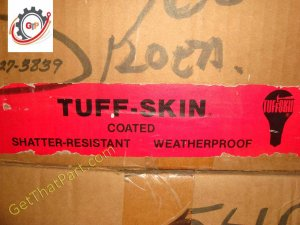 Tuff Skin Kote A19 25W 25A19 Shatterproof Safety Coat Light Bulb Lamp