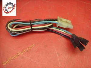 Wolf Air Flow AFS-100E-C Circulating Oven Light Switch Wiring Harness